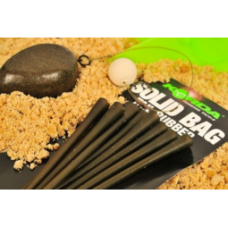 Korda Solid Bag Tail Rubber Qty 10