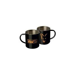Fox Staintless Black Mug
