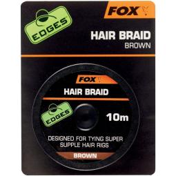 Fox Hair Braid 10m Brown