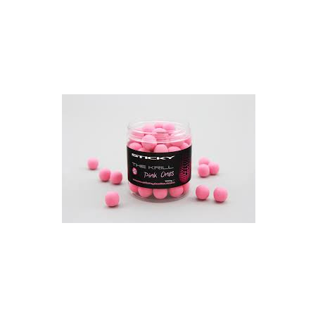 The krill pink ones 16mm pop up sticky bait