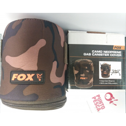 Camo Neoprene Gas Cannister Cover Fox