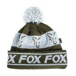 FOX COLLECTION FLEECE LINED BOBBLE GREEN/SILVEER BERRETTOFOX