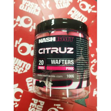 Wafters Citruz 20mm pink 100gr Nash Bait